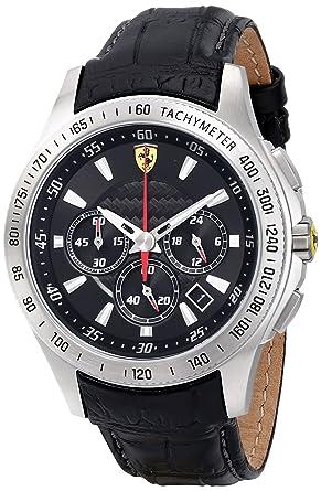 ferrari scuderia sf105 chronograph mens watch 0830039 amazon co ferrari scuderia sf105 chronograph mens watch 0830039