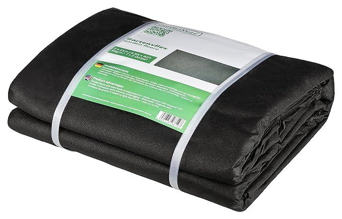 63 opinioni per GardenMate® 2x25m Telo per Pacciamatura di Orto Giardino e Aiuole Biodegradabile