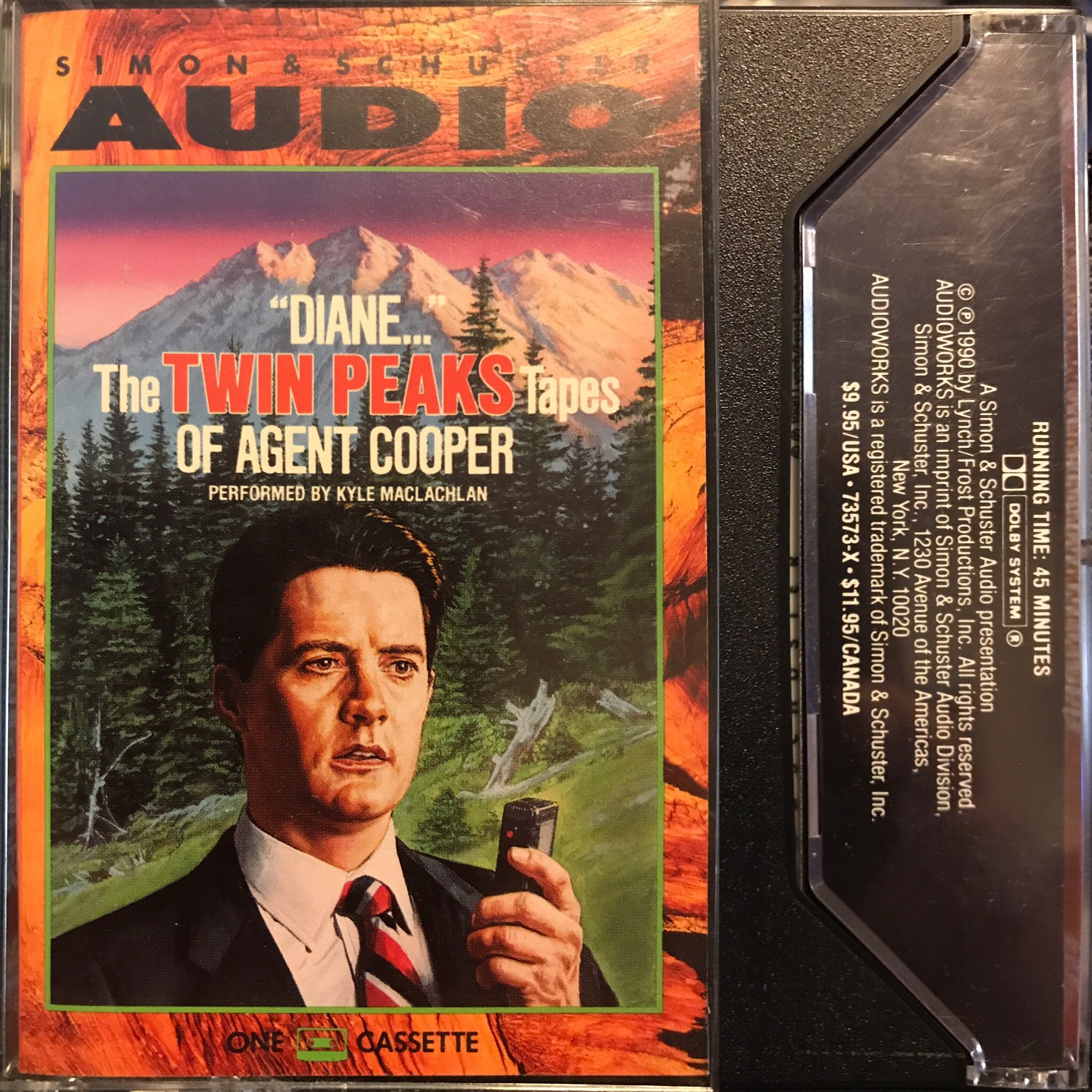 Diane: The Twin Peaks Tapes of Agent Cooper: Amazon.es: Lynch: Libros en idiomas extranjeros
