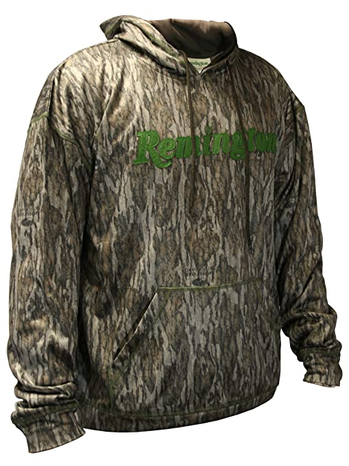 fed664050671 Remington Performance Camo Hoodie for Men - Choose Mossy Oak Bottomland  Hoodie or Mossy Oak Shadow Grass Blades Camouflage Hoodie