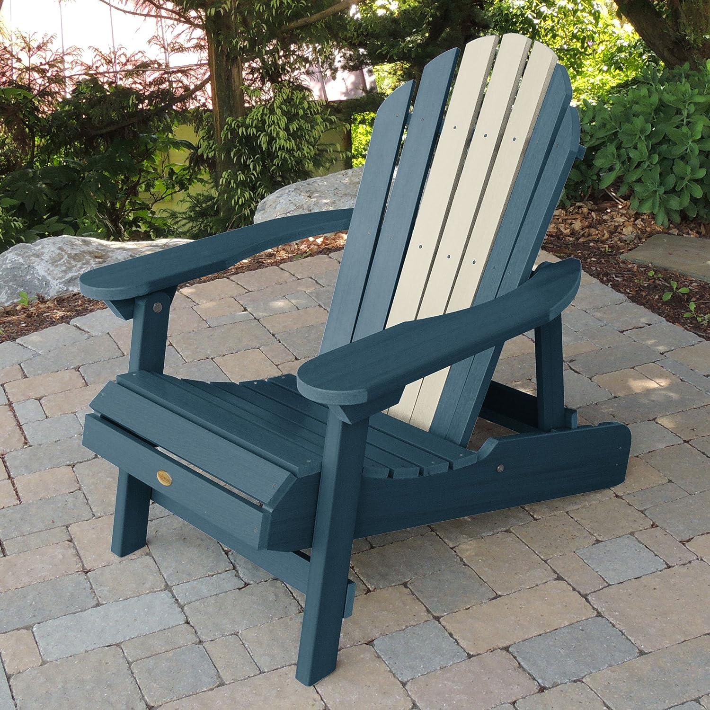 Hamilton Folding and Reclining Adirondack Chair,Adult Size,Odyssey