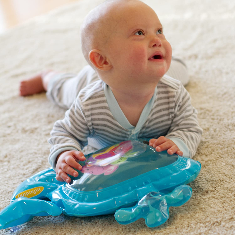 Infantino-Tapis deau sensoriel Pat /& Play Blue 206685