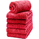 """Microfiber Cleaning Cloth – Microfiber Towels – Microfiber Detailing Towels – Microfiber towels for car home office - Microfiber Absorbent Drying towels for any surface 6 pack 16""""x16"""""""