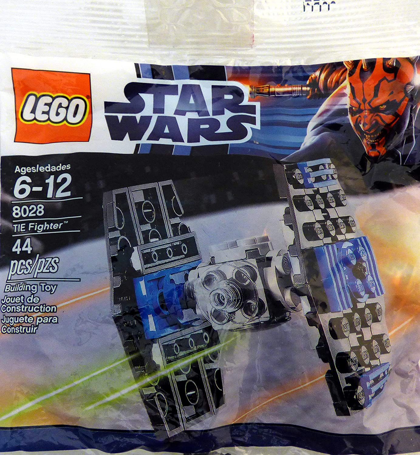 Bagged LEGO Star Wars Mini TIE-Fighter Polybag Set 8028