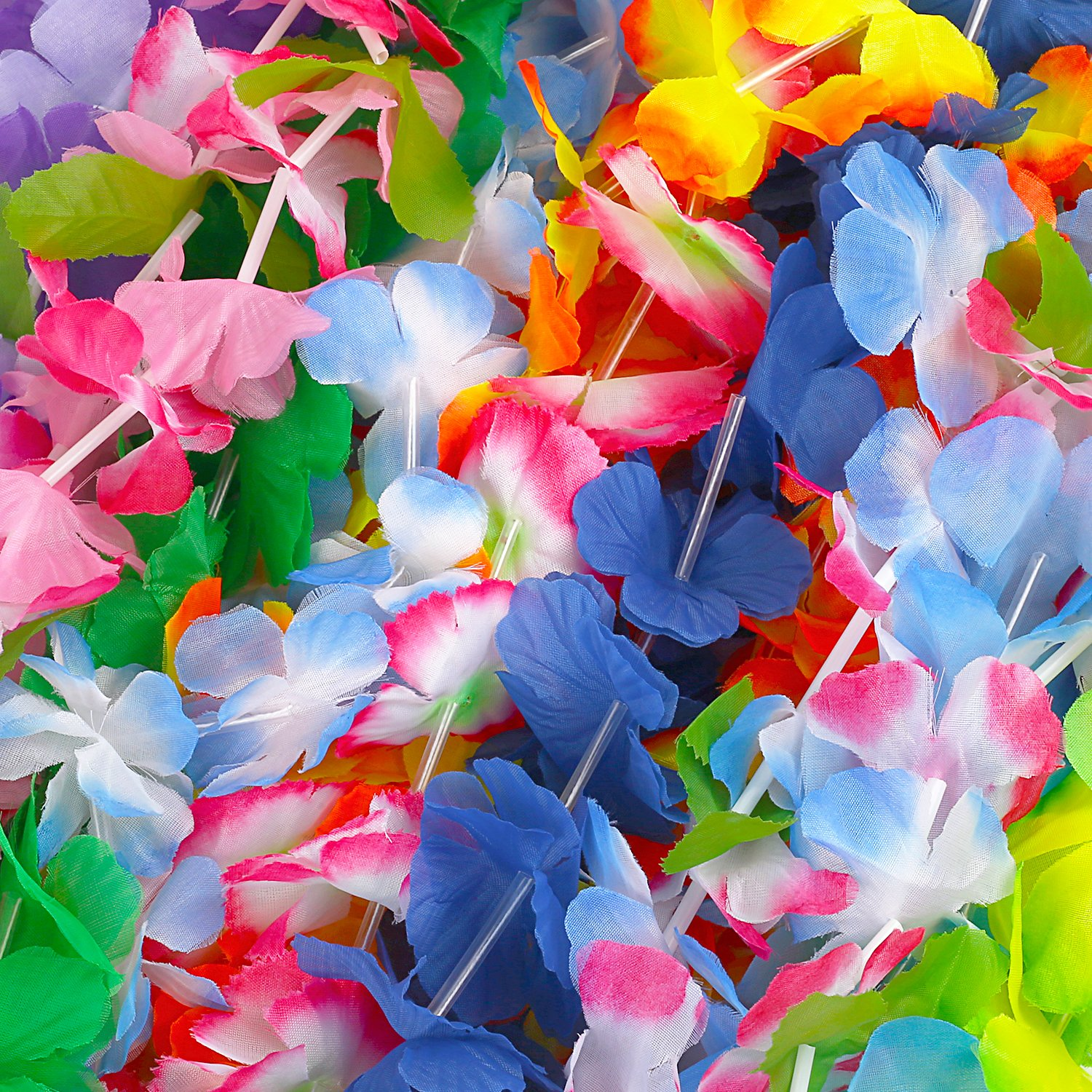 Amazon Hawaiian Leis 54 Designs Total 42 Flowers Necklaces 7