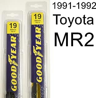 "product image for Toyota MR2 (1991-1992) Wiper Blade Kit - Set Includes 19"" (Driver Side), 19"" (Passenger Side) (2 Blades Total)"