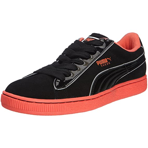 bf27b105b983 Puma Suede Rainbow Glow Womens Mens Adults Lace Up Trainers 352541 ...