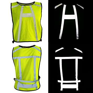 BTR High Visibility Reflective Running Bib Vest. Suitable for running 02ddc989d