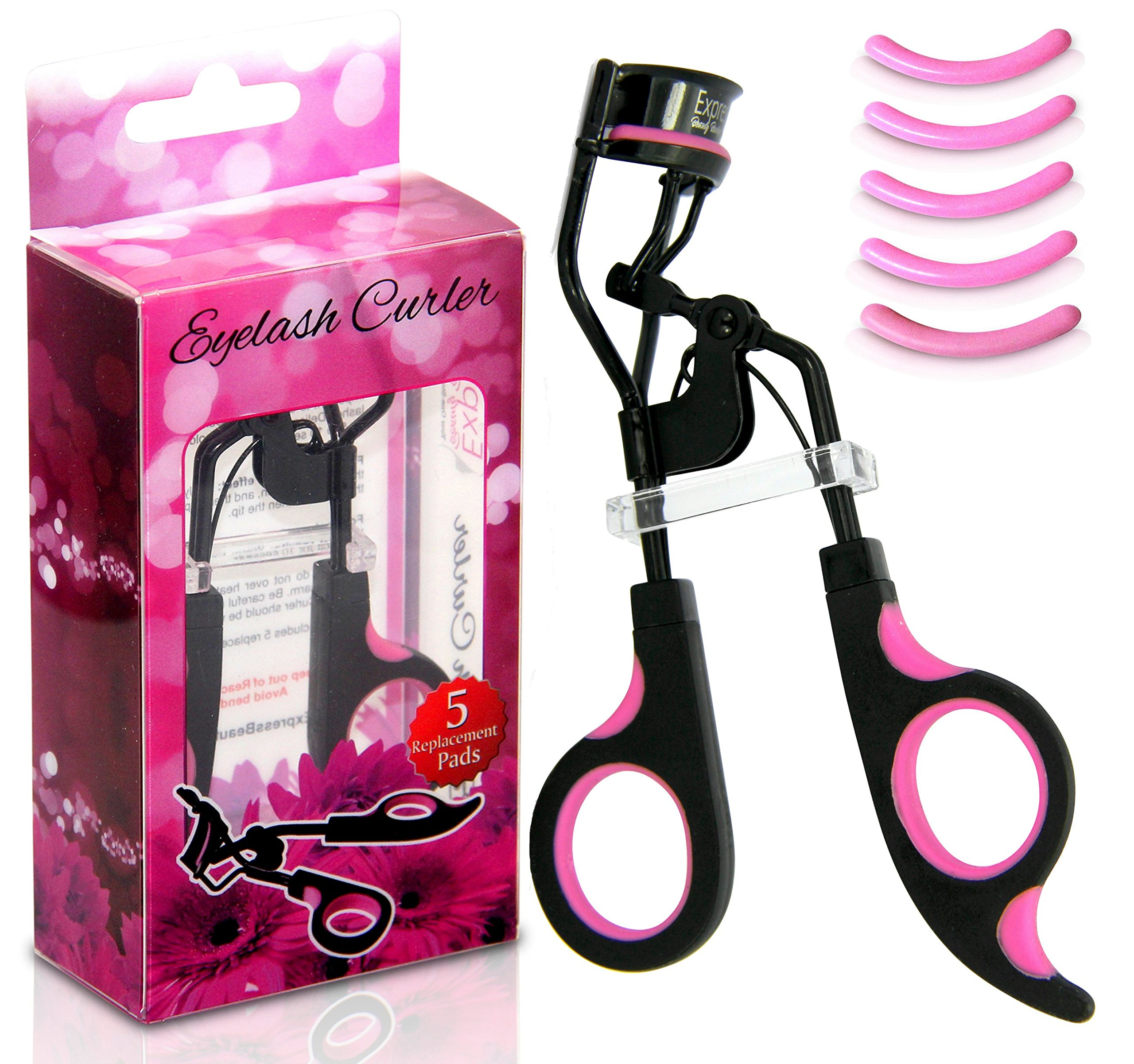 Amazon Express Beauty Boutique Eyelash Curler Curling Set With