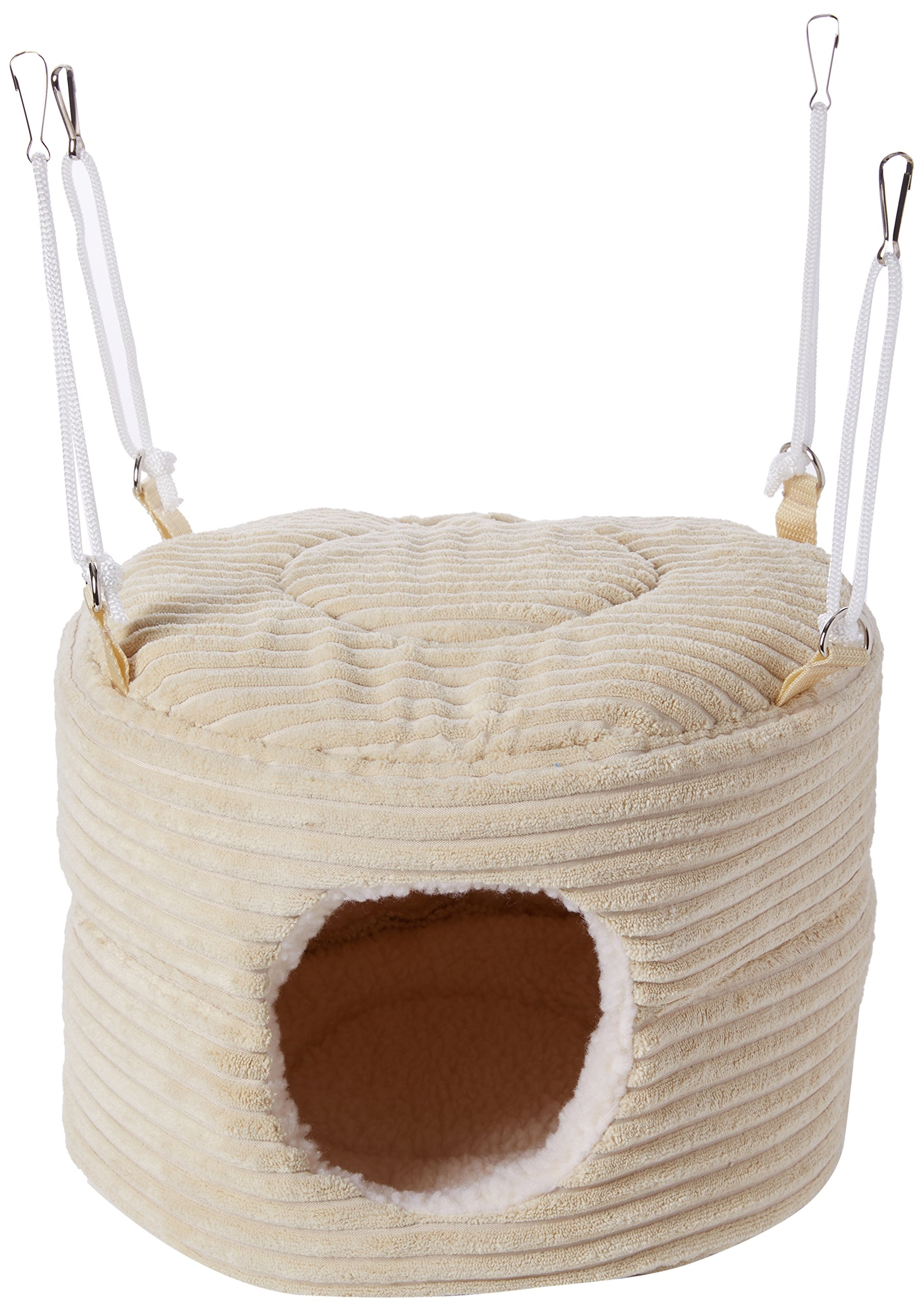 Little Friends Huge Rodent-Hive Rat Ferret Toy, Luxury Cream