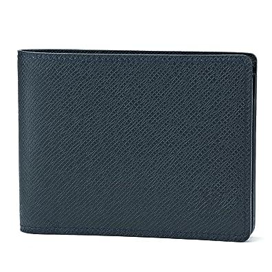 ルイヴィトン(Louis Vuitton) M32826 タイガ 2つ折り財布 ネイビー 紺 OCEAN(オセアン