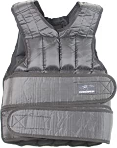 Fatgum Fitness 40 Pound Adjustable Weighted Vest with 38 Removable Weights - Weight Vest for Men and Women - Strength Training Weight Vests for Running, Calisthenics, at Home Workout, 19.5kg