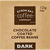 Byron Bay Coffee Company Dark Chocolate Coated Coffee Beans, 125g