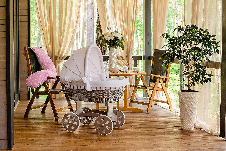 Comfortbaby home xxl baby stubenwagen mit moskitonetz