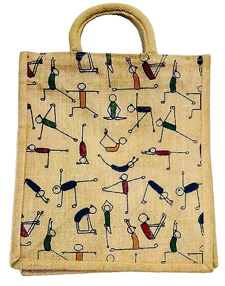 Madeleine Jute Yoga bag Khakhi (Bright): Handbags: Amazon.com
