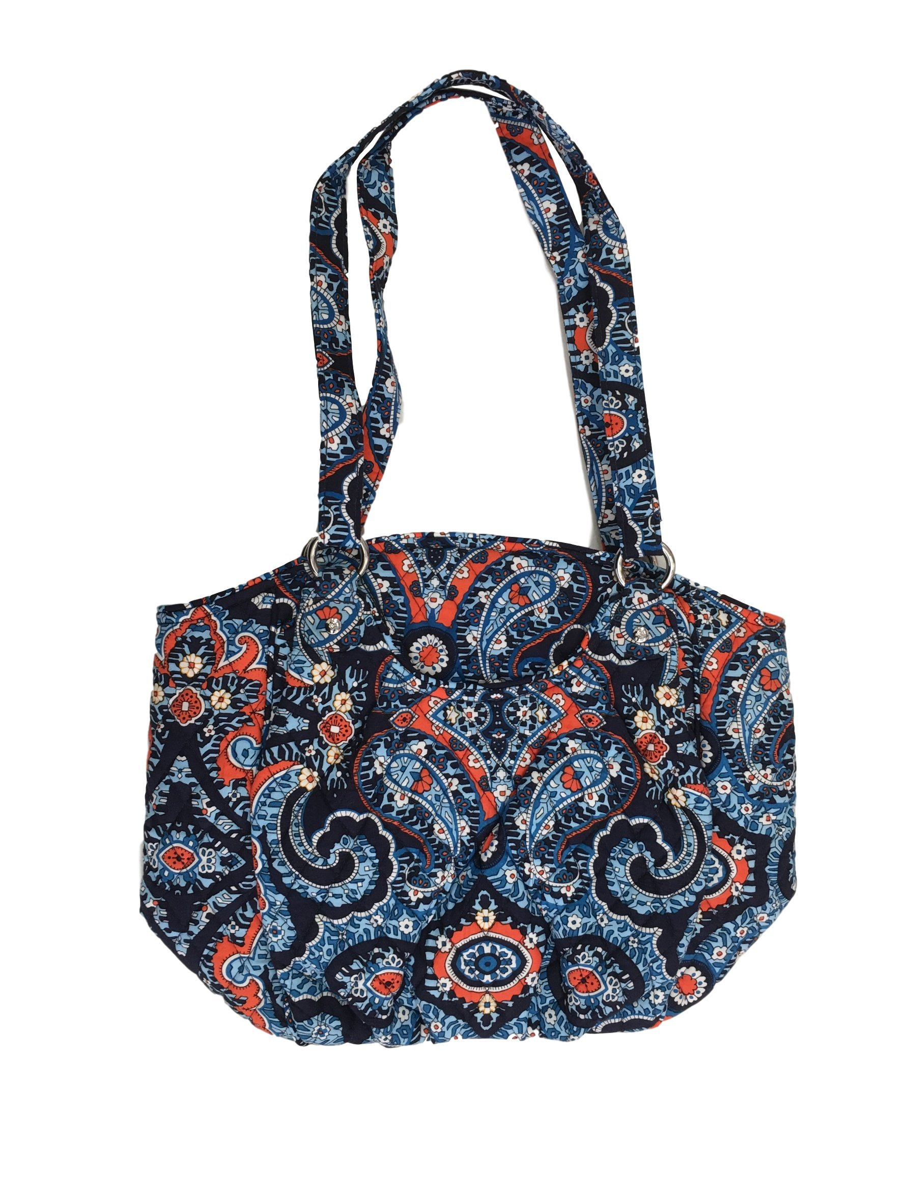 Vera Bradley Glenna Shoulder Bag, Signature Cotton (Marrakesh)