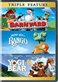 Barnyard/Rango/Yogi Bear (DVD) (Triple Feature)