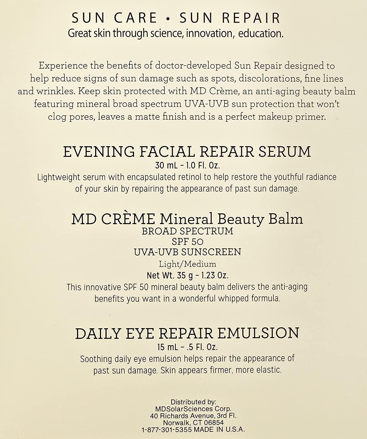 Md Creme Mineral Beauty Balm by mdsolarsciences #17