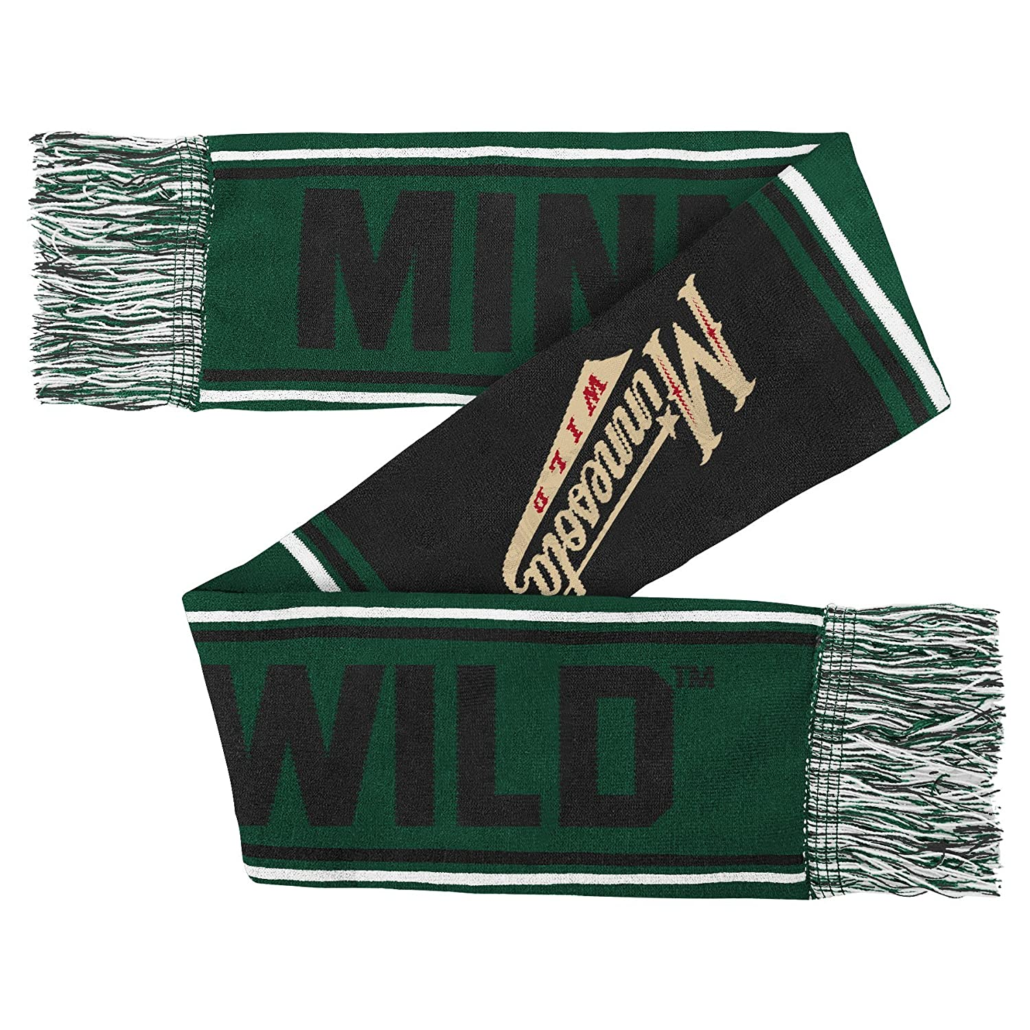 Youth One Size NHL Minnesota Wild Youth Outerstuff Winter Scarf Team Color