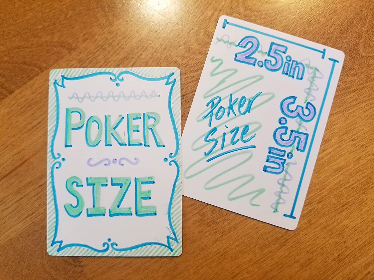 Apostrophe Games Blank Playing Cards Poker Size