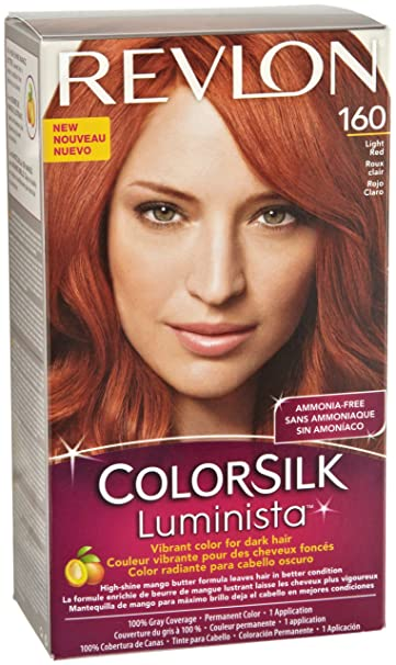 Revlon Colorsilk Luminista Haircolor, Light Red