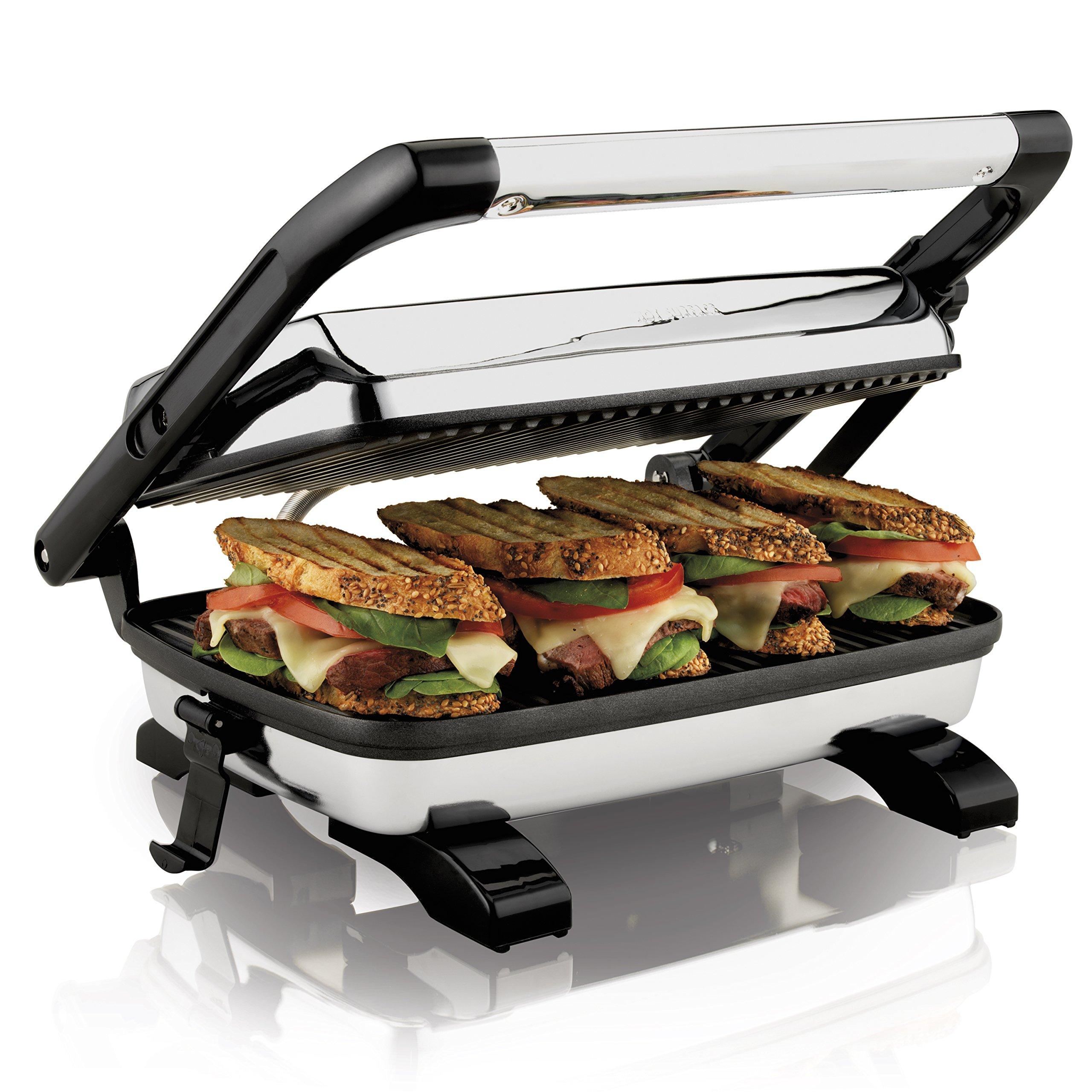 Proctor Silex 25453A Panini Press Gourmet Sandwich Maker