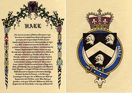 Surname Family Name Meaning Origin Coat Of Arms Crest Prints A