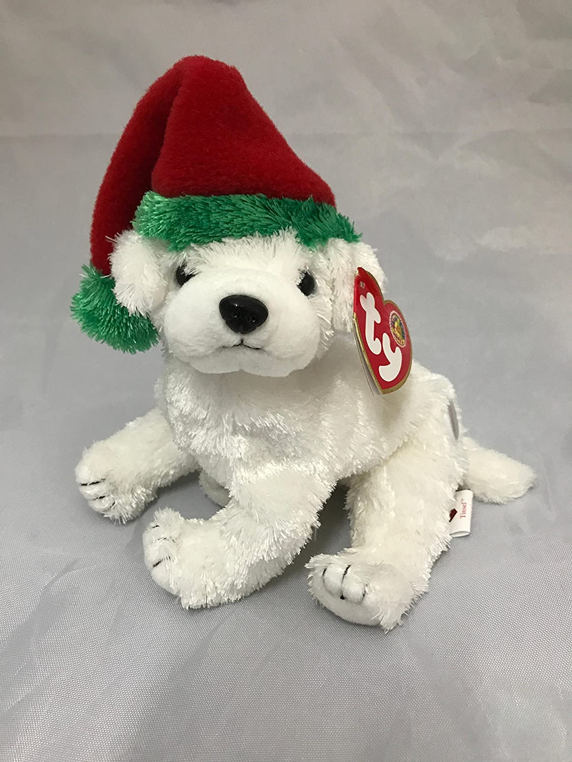 ca0627584f5 Amazon.com  TY Beanie Baby - TINSEL the Dog (BBOM December 2003)  Toys    Games