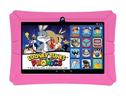 "EPIK Learning Tab, 8"" Kids Touchscreen Tablet Featuring Android 5 1 OS,  Looney Tunes Phonics, 16GB Intel Quad Core Processor KidSafe Certified"