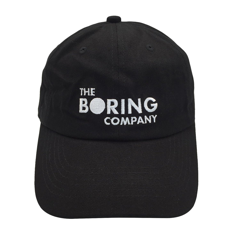 2c911f80a2e Amazon.com  binbin lin The Boring Company Cap Spacex Hat Dad Hat Baseball  Cap Mens Dad Hat for Men Black  Clothing
