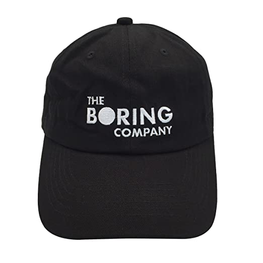 d5f51ff4082 binbin lin The Boring Company Cap Spacex Hat Dad Hat Baseball Cap Mens Dad  Hat for
