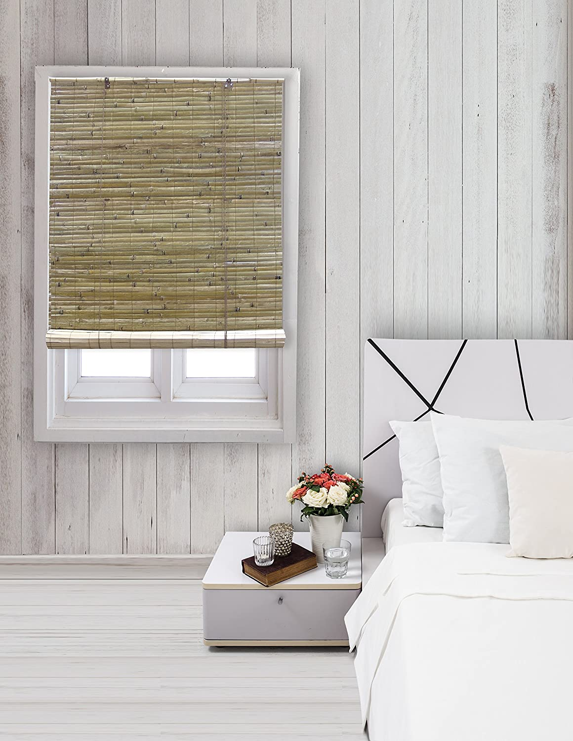 Window blinds for sale window shade price list brands amp review - Amazon Com Radiance 0108108 Laguna Bamboo Shade Roll Up Blind Natural 72 Inch Wide By 72 Inch Long Home Kitchen