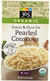 365 Everyday Value, Organic Garlic & Olive Oil Pearled Couscous, 5.8 Ounce, Packaging may vary