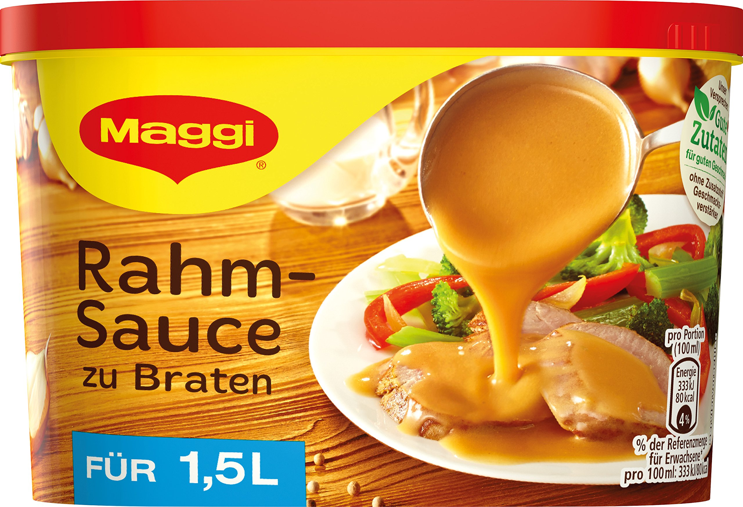 Maggi Creamy Gravy for Roasts ( Rahmsosse zu Braten ) - for 1.5 L
