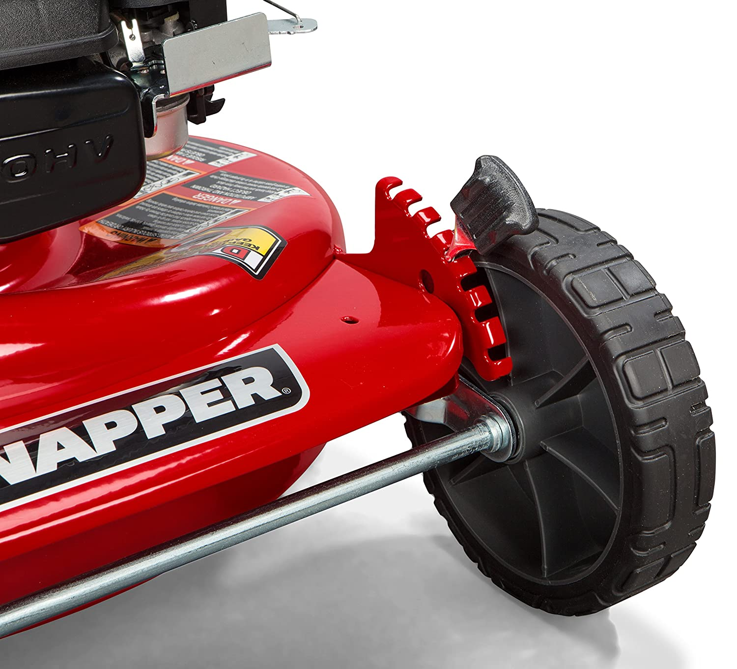 Amazon Snapper P HI VAC 190cc 3 N 1 Rear