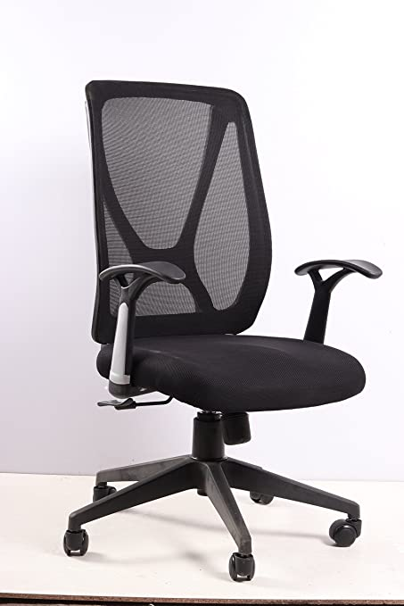 KS Trader KS334 Office Chair  Black  Home Office Desk Chairs