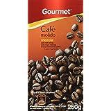 Gourmet Café Molido Mezcla Tueste Natural Y Torrefacto - 250 g