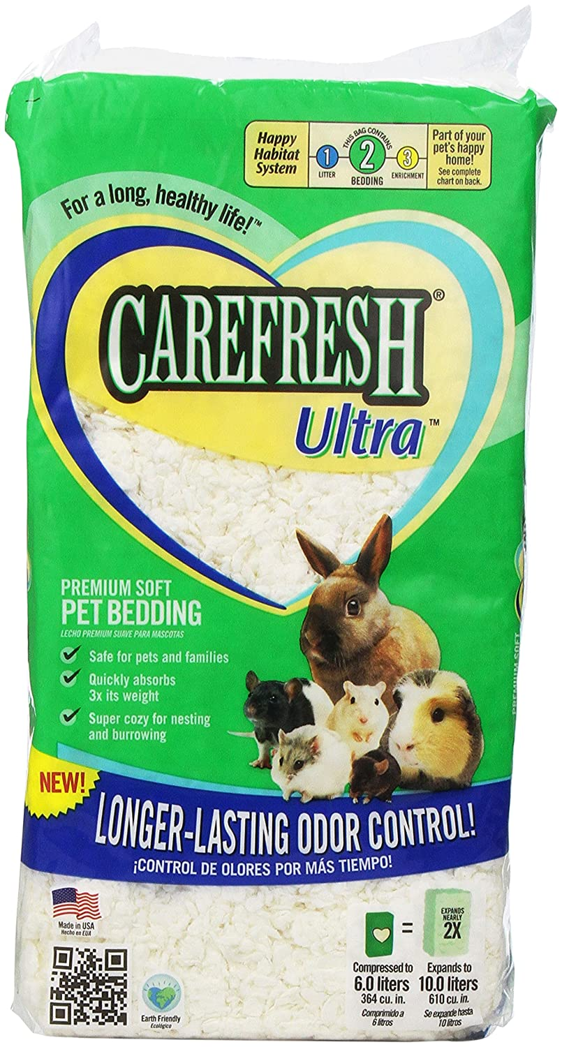 Amazon.com : Absorption Corp Carefresh Ultra Pet Bedding, 10-Liter : Pet Habitat Bedding : Pet Supplies
