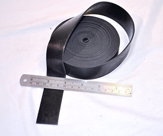 Rubber Strip 1 3 16 Wide X 5 64 Thick X 16 Feet Long Solid Neoprene Black Rubber Rubber Flooring Amazon Canada
