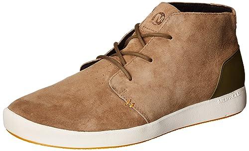 Mens Freewheel Mesh Chukka Hi-Top Sneakers, US Merrell