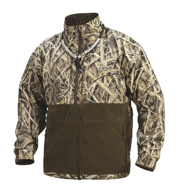 Drake Outdoors Eqwader Fullzip Jacket B076CRDD7R  Mossy Oak Shadowgrass Blades Medium