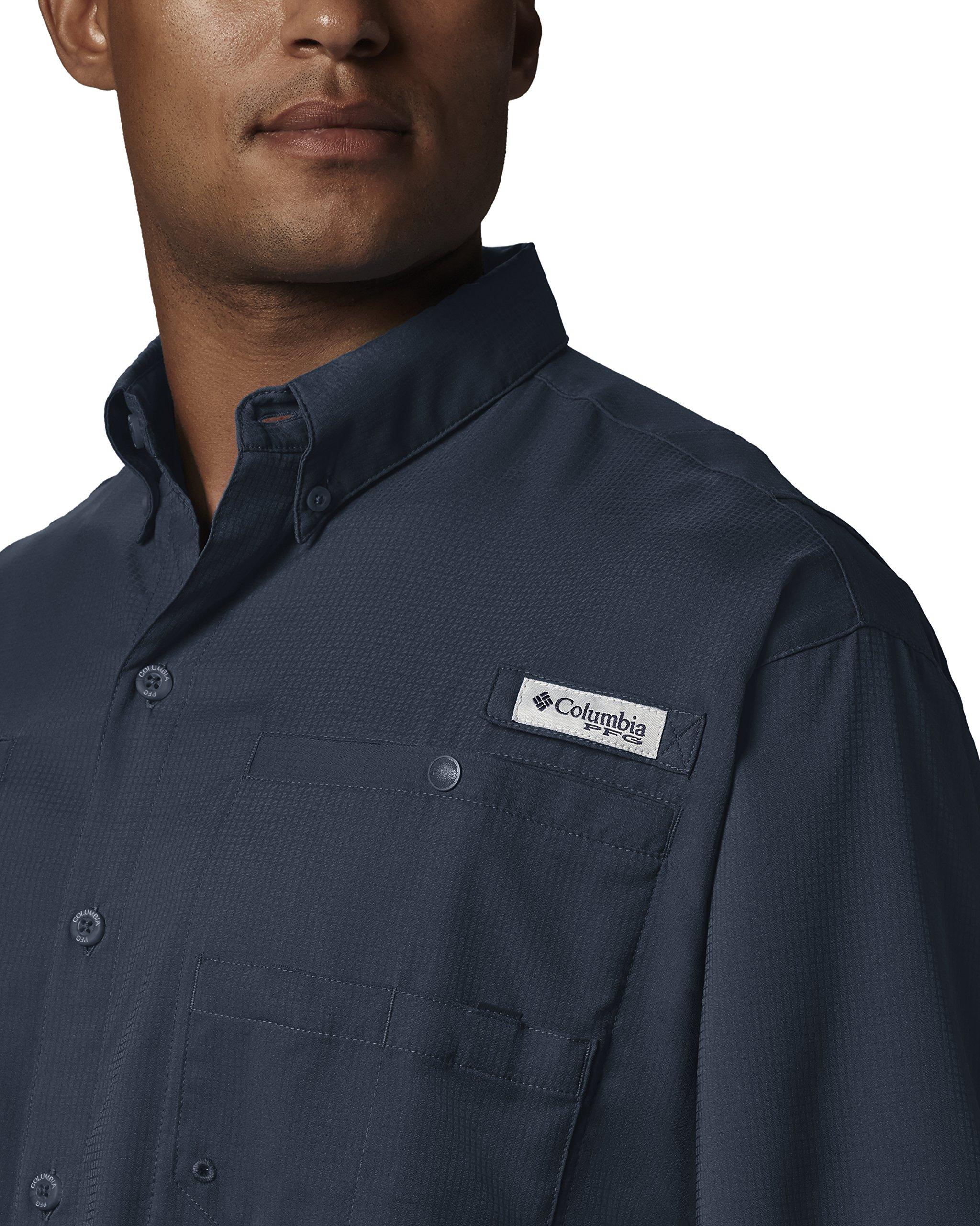 Columbia Men's Tamiami II Short Sleeve Fishing Shirt, Collegiate Navy, X-Small by Columbia (Image #3)