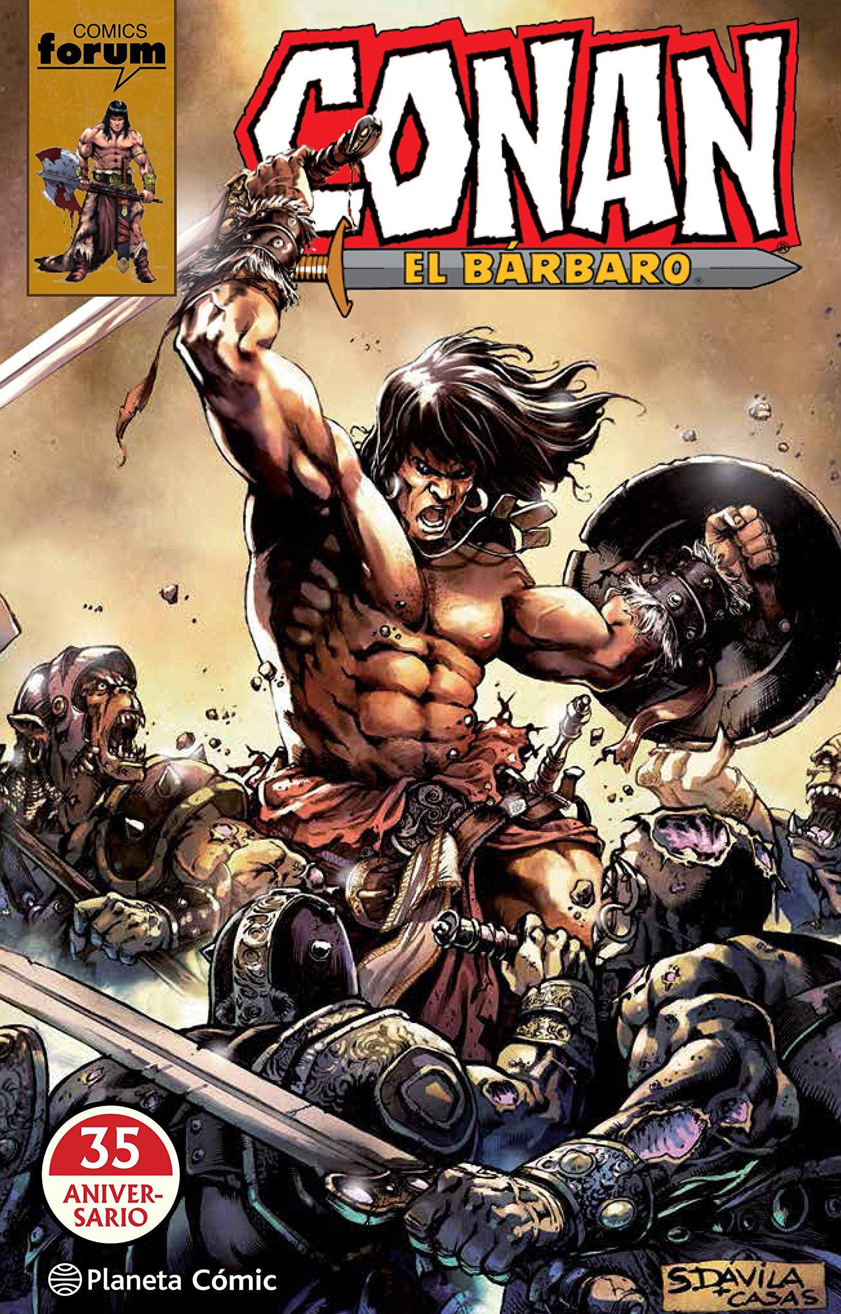 Conan El bárbaro 35 Aniversario: Amazon.es: AA. VV., García de Isusi, Víctor Manuel: Libros