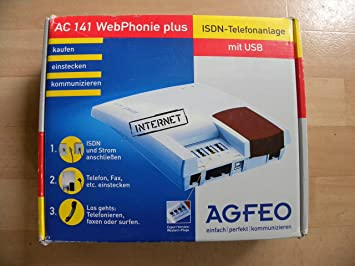 AGFEO KG AC 141 WEBPHONIE PLUS WINDOWS 7 64BIT DRIVER