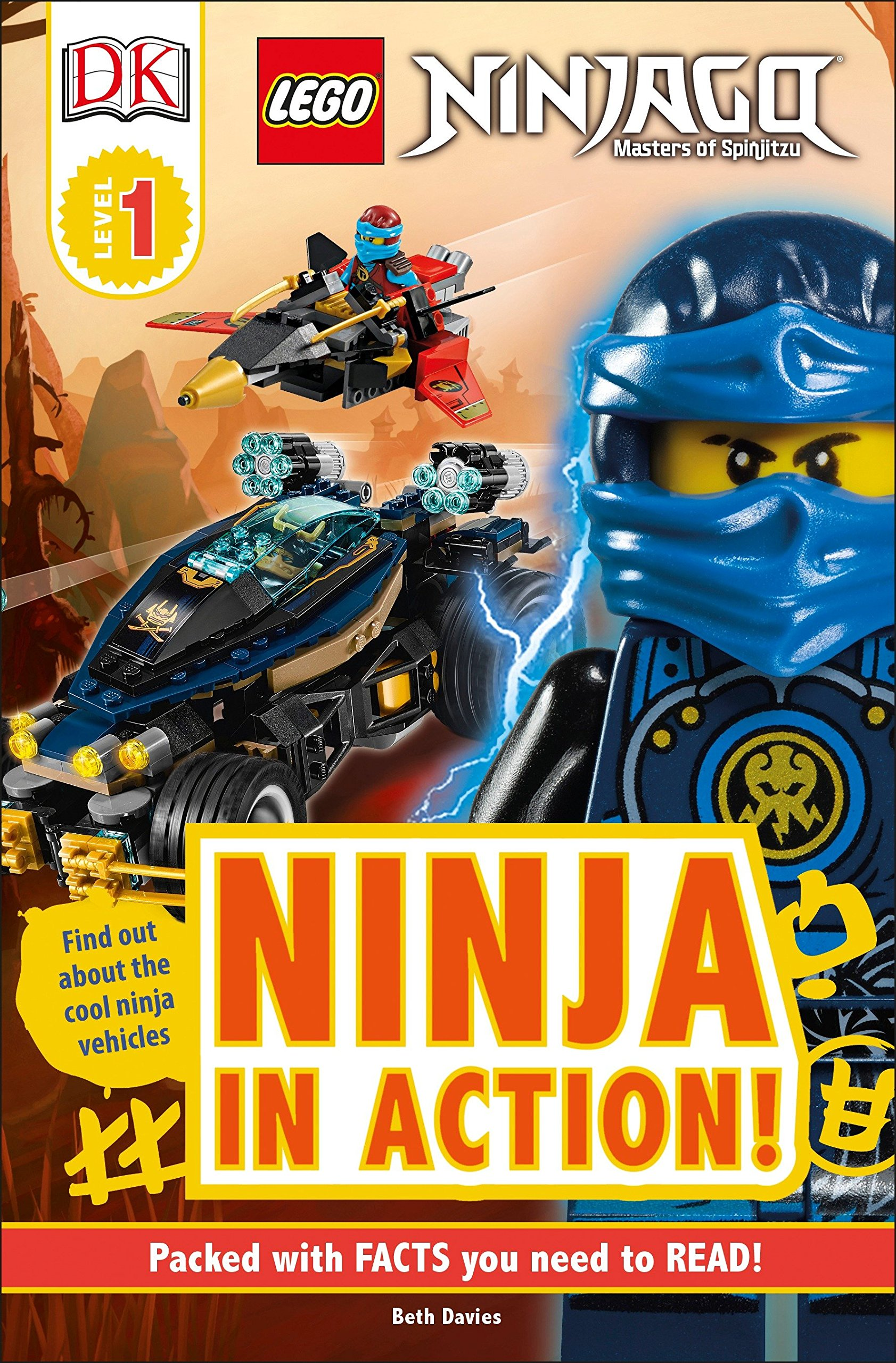DK Readers L1: Lego Ninjago: Ninja in Action Dk Readers ...
