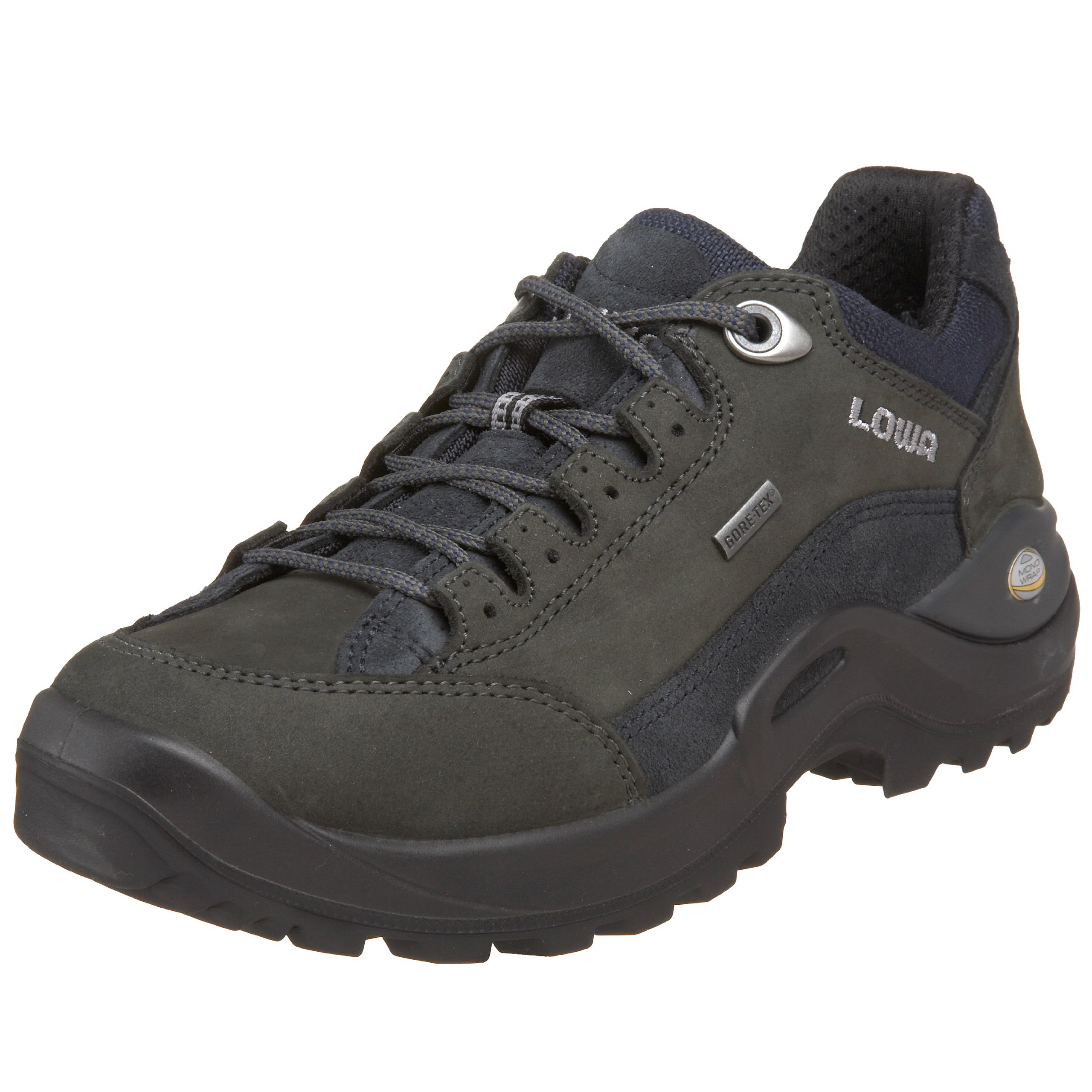 Lowa Women's Renegade II GTX LO Dark Grey/Navy Hiking Shoe - 7 B(M) US