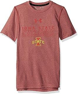 Navy Under Armour NCAA Syracuse Orange Teen-Boys NCAA Boys Short Sleeve Vented Tee Large