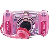 VTech - Kidizoom Duo, cámara de fotos digital, color rosa (3480-170857)
