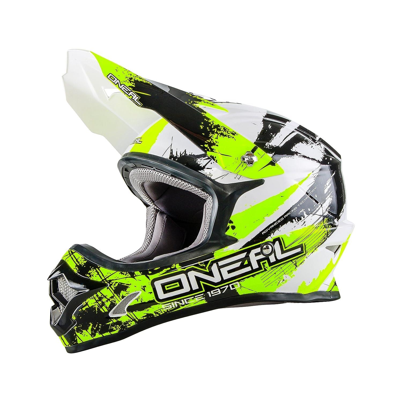 O Neal Backflip Fidlock DH Helm RL2 SHOCKER Neon DH FR MTB Fullface Mountainbike Downhill
