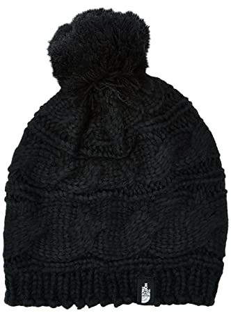 63167981cd6 The North Face Lightweight Triple Cable Women s Outdoor Beanie available in  TNF Black - One Size